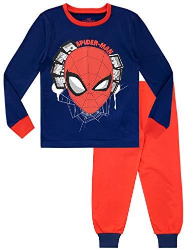 Marvel Pijamas de Manga Larga para...