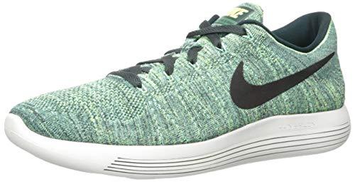 Nike Mens LunarEpic Low Flyknit Seaweed/Black Ghost Green Running Shoe 10 Men US