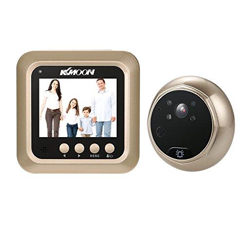 KKmoon 2.4' LCD Digital Peephole Viewer 160° Door Eye Doorbell HD IR...