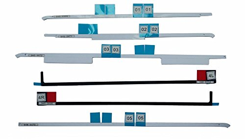 Willhom (076-1416, 076-1422, 076-1437) LCD Display Adhesive Strips Tape Kit Replacement for iMac 21.5' A1418 (Late 2012 - Retina 4K Late 2015)