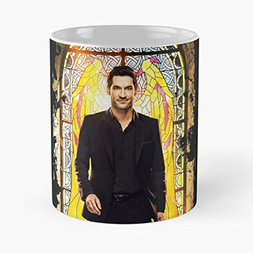 Episoftglobal Lucifer TV Serie Tom Ellis Series Show Morningstar Migliore Tazza da caffè Regalo 11 oz