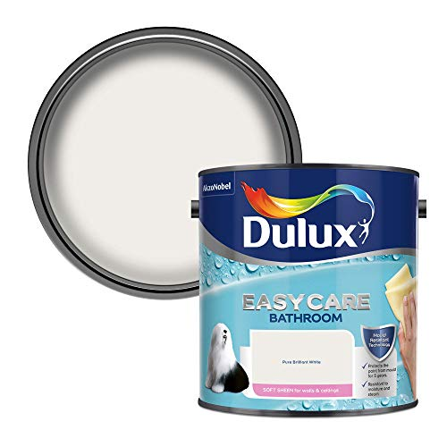 Dulux Easycare Bathroom Soft Sheen Emulsion Paint For Walls And Ceilings