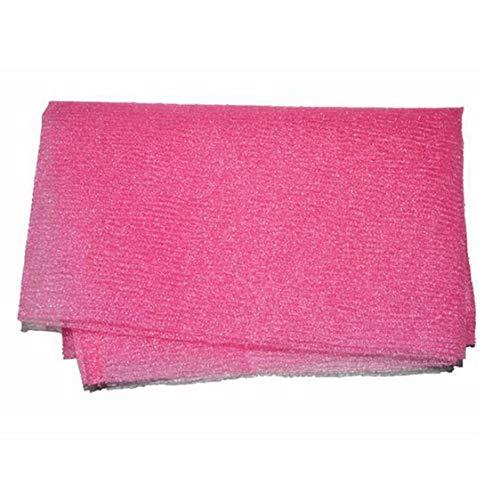 Dynamovolition Toalla de baño de Espuma Estilo Coreano Tiras largas Herramienta de Limpieza de Toalla de baño de Espuma Trasera Toalla de baño Lavado de Tela Limpia