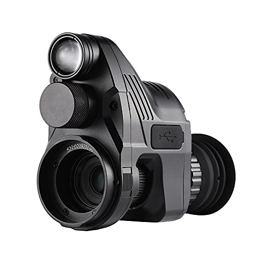 Pard NV007 Digital Night Vision Rifle Rear Scope Night Vision Add on Attachment WiFi 1080P IR Hunting Camera Monocular with 32G SD
