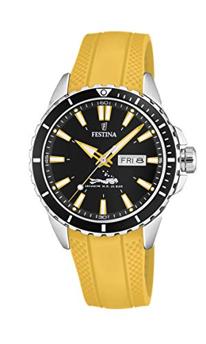 Festina Herren Analog Quarz Uhr mit PU Armband F20378/4