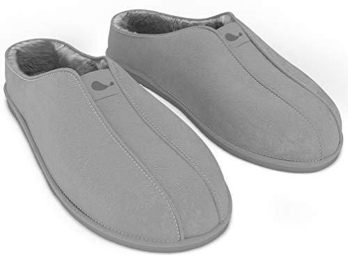Heel That Pain Plantar Fasciitis Shoes with Arch Support - Heel Seat Orthotic Slippers for Plantar Fasciitis, Heel Pain & Heel Spurs | Plush Comfort & Gentle Support | Unisex (Men's 7, Women's 8)