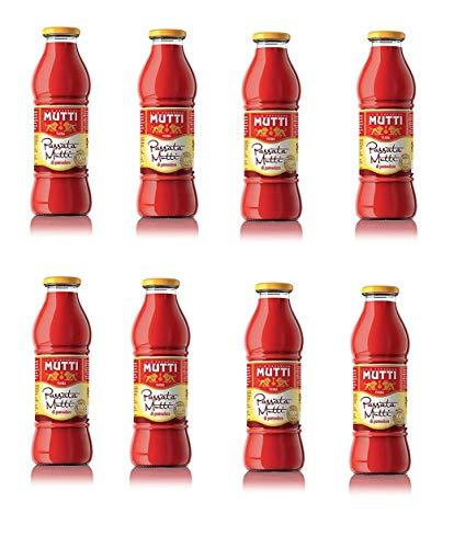 8x Mutti Passata di Pomodoro Tomatenpaste Tomaten sauce 100% Italienisch 700g