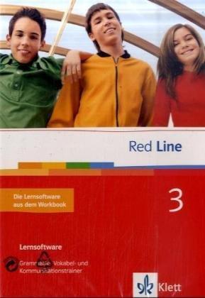 Preisvergleich Produktbild Sprachtrainer Red Line Band 3,  Unterrichtswerk für Realschulen,  (entspricht der Workbook-Software) 7. Schuljahr