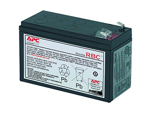 APC BackUPS BK500 12V 7Ah UPS Battery This is an AJC Brand Replacement