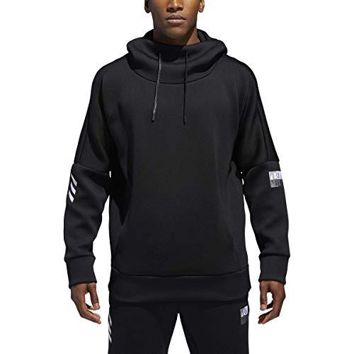 adidas Mens Harden Athleitc Cowl Neck Hoodie Black M