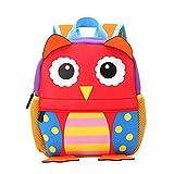 Kid Backpack, Baby Boys Girls Toddler Pre School Backpack Children Backpacks Bags (owl)