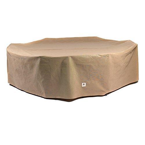 couvertures de canard Essential rectangle/ovale pour table avec chaises terrasse, 322,6 cm par couvertures de canard