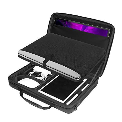 """Smatree Laptop Aktentasche Umhängetasche, Kompatibel für 13-13,3 Zoll MacBook Pro/ MacBook Air/ 13.5"""" Surface Laptop 4/3/2, Hart Tasche Tragetasche"""