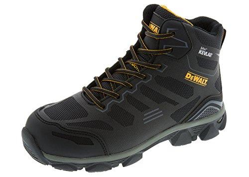 "DEWALT Men's Black Kevlar Aluminum Toe Puncture Resistant Work Boot- Black 11.5"""