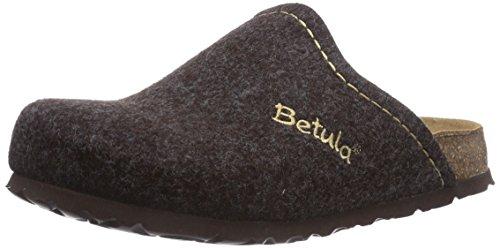 Betula Unisex-Erwachsene House Soft Clogs, Braun (Dark Brown), 37 EU