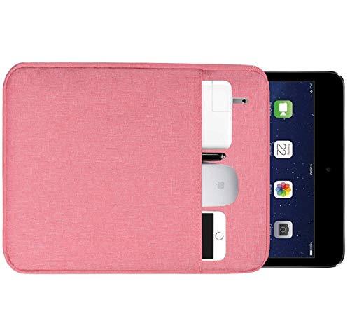 "dealcase Tablet Sleeve Case for 9.7"" 10.1"" 10.2"" 10.5"" 11 inch iPad Pro/iPad Air, iPad 7/6/5/4, Surface Go, Samsung Galaxy Tab A 10.1 / Tab E 9.6"" Protective Bag, Fit Apple Smart Keyboard"