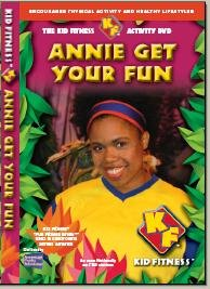 The Kid Fitness Activity DVD - Annie Get Your Fun!