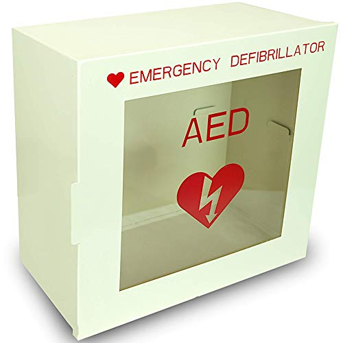 Non Alarmed AED Defibrillator Wall Mounted Storage Cabinet - 14.1