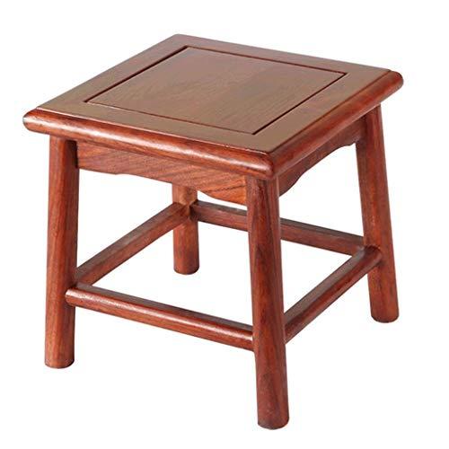 GZQDX Kinder Chair- Fußbänke, Hocker Massivholz Chinese Low Hocker Startseite Schuh Bench Kinder Wohnzimmer Bench