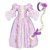 NNDOLL Halloween Carnaval Sofia Vestido niña Princesa Vestido 110 2-3 años