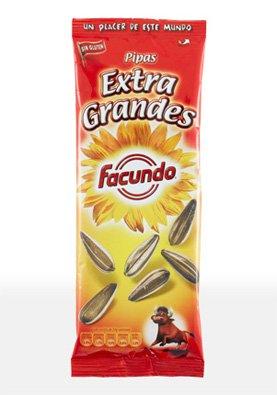 Facundo Pipas Extra Grandes - 5 Bolsas x 85 g.
