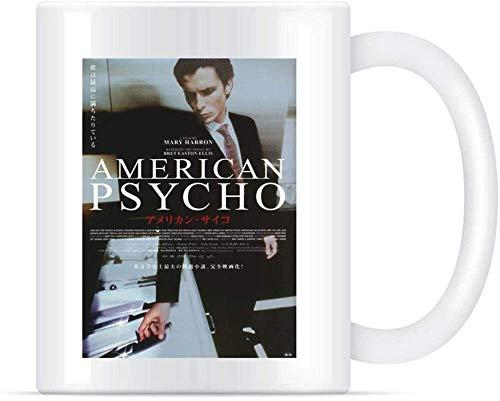 N\A Japanisch-amerikanische Psychos-Kaffee-Tee-Keramik-Becher-Tassen 11oz