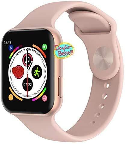 HAYEDF F10 W34 iwo 8 Plus Smartwatch mit Pulsmesser Fitness Tracker Smartwatch Damen/Herren-Armband Armband Smartwatch,EIN