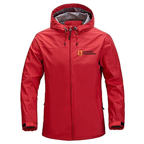 GYH Men's Windproof Jacket Brand Casual Outdoor Waterproof Hooded National Geographic Coat Sports Outwear Overcoat Man Clothing-8  5XL