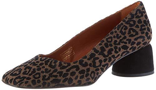 Castañer Kael/Fw19022, Zapatos de tacón con Punta Cerrada Mujer, Marrón (Marrón 2000), 38 EU