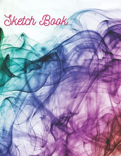 Sketch book : shiny notebook for Drawing, Painting, Writing and Sketching: Sketchbook Journal & Notebook: A Large Journal with Blank Paper for ... Painting, Writing, School, Class and Home