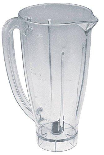 Mixbecher für Mixer Sirman DRAGONE CE, Cookmax 721003 für Mixer Dragone Kunststoff 1.500 ml