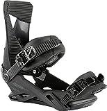 Nitro Zero Snowboard Bindings 2021 - Men's Ultra Black Large