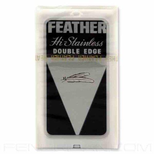 30 Feather Edelstahl zweischneidige Sicherheits-Rasierklingen
