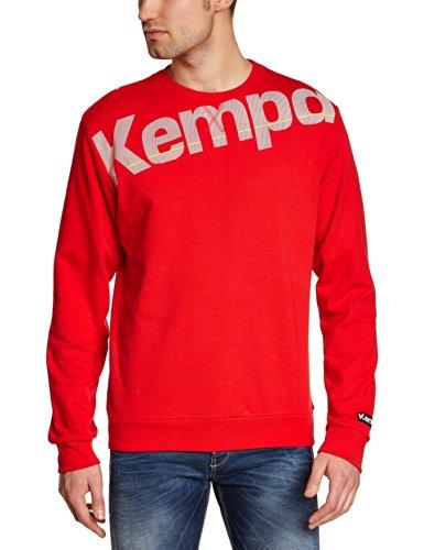 Kempa Pullover Core Sweat Shirt, Rot, XXL