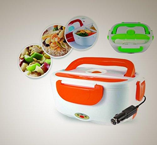 Taper Tartera eléctrica Para Coche Verde O Naranja