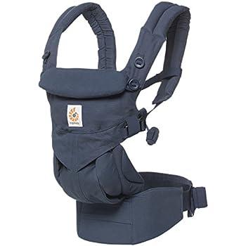 エルゴベビー(Ergobaby) 抱っこひも おんぶ 前向き抱き [日本正規品保証付] (洗濯機で洗える) ベビーキャリア 成長にフィット オムニ360/ミッドナイトブルー CREGBCS360BLU