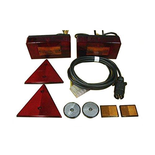 Kit eléctrico para remolque (3000x1600) Para remolque de categoria O1 (hasta 750kg)