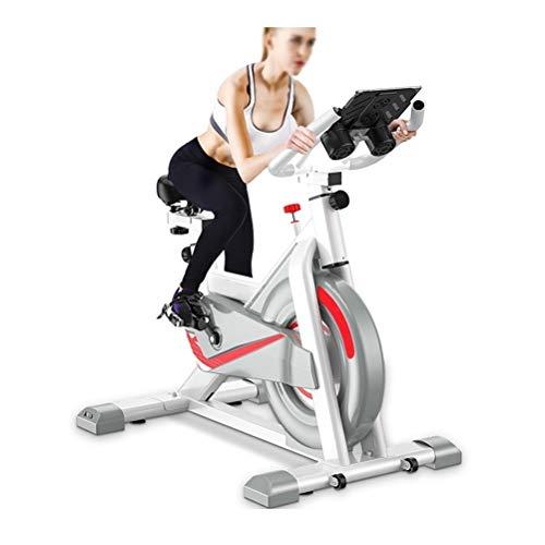 LJJ Ajustable de la Bicicleta estática Cubierta Standing de Bicicletas con Shock Pad, Control de Aplicaciones y artefactos Quema de Grasas