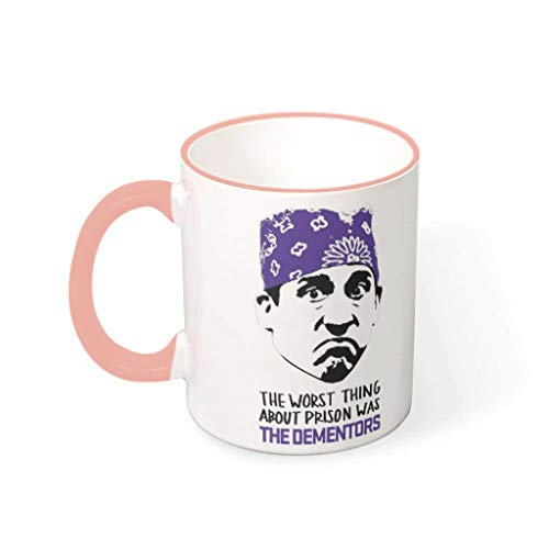 DOGCATPIG Taza de regalo Prison Mike the worst thing about prison was the dementors Retro Gift Mug for best friend vcbe 330ml