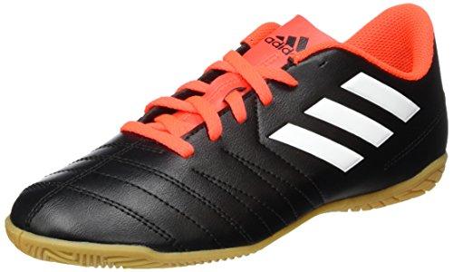 adidas Unisex-Kinder Copaletto IN jr. Fußballschuhe, Schwarz (schwarz/Weiß/Rot), 28 EU