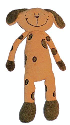 Inware 7735 - Kuscheltier Schlenkerhund Timmy, beige/braun, 32 cm