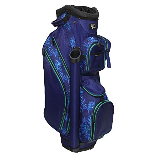 "RJ Sports Paradise 9"" Deluxe Ladies Cart Bag, Palm Breeze, 9"
