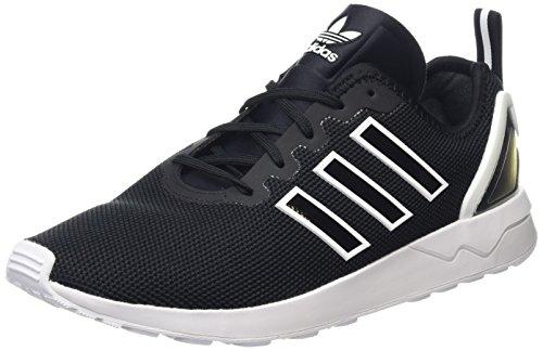 adidas Zx Flux Advanced, Zapatillas Unisex Adulto, Negro (Core Black/Core Black/Ftwr White), 44 EU