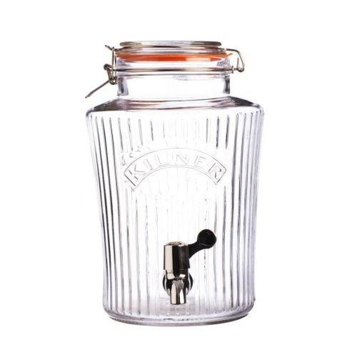 Kilner - Getränkespender - Vintage - 5 Liter - Glas - Zapfhahn