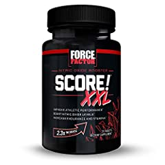 MAXIMIZE NITRIC OXIDE LEVELS: SCORE! XXL is designed to deliver a potent NO boost to improve blood flow and circulation during daily physical activity. The Blood Flow Stimulation Matrix pairs l-citrulline with S7, a potent super-blend of ingredients,...