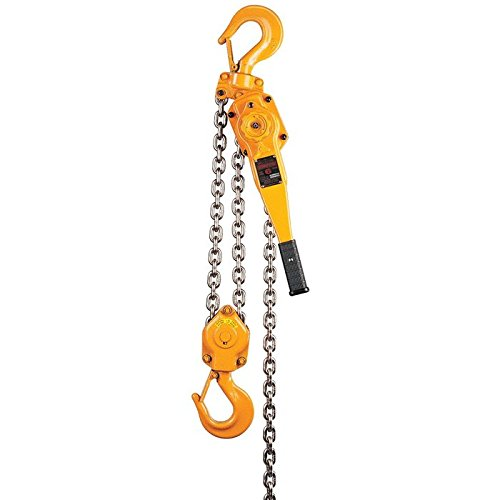 Harrington LB Lever Hoist, Hook Mount, 1-1/2 Ton Capacity, 10' Lift, 13.2