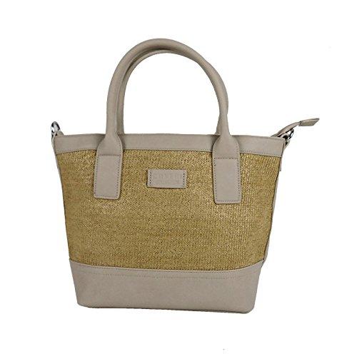 Coveri Collection CV033-6 - Bolso para mujer, color gris