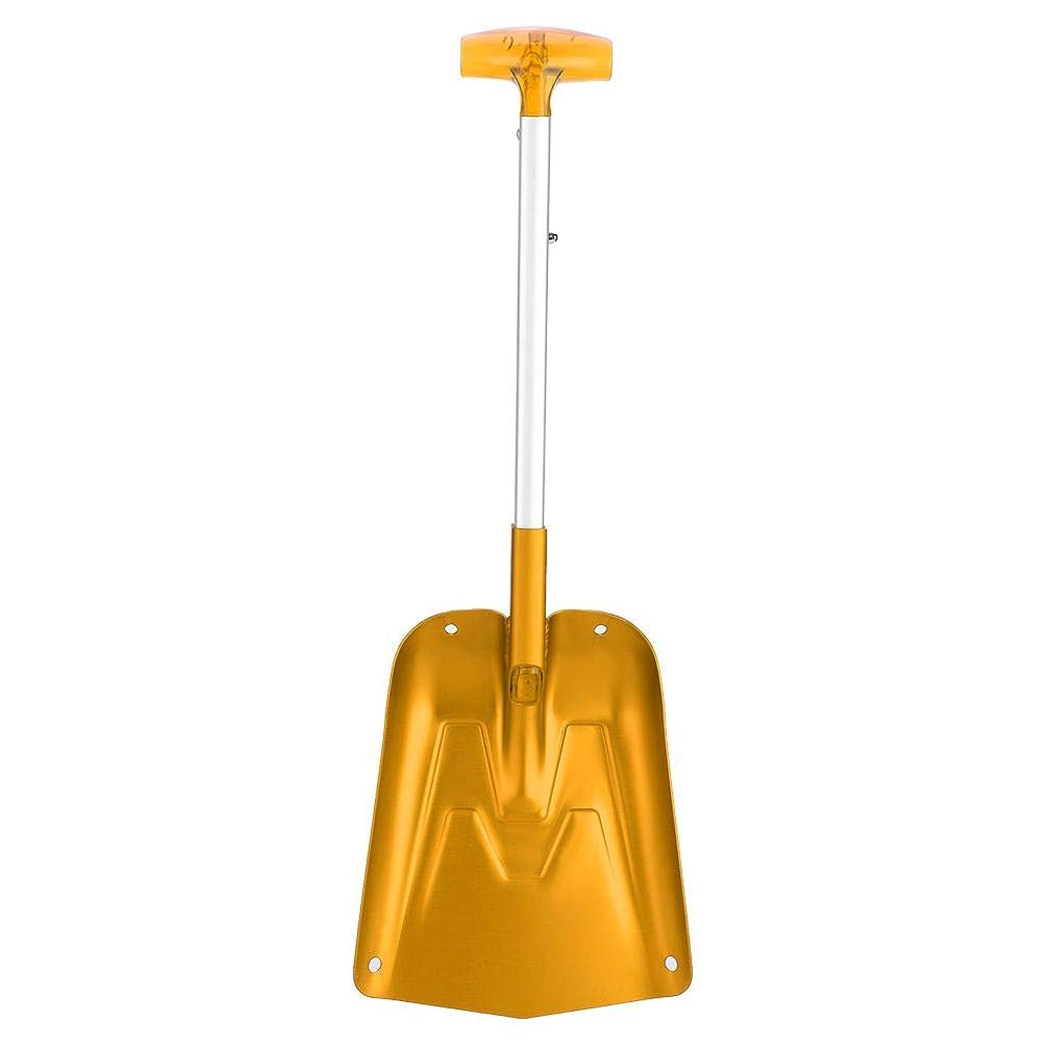 アレルギー性マージンふさわしいシャベル スノーショベル 折りたたみシャベル 伸縮式 雪かきスコップ 軽量 携帯スコップ 組み立て式 除雪