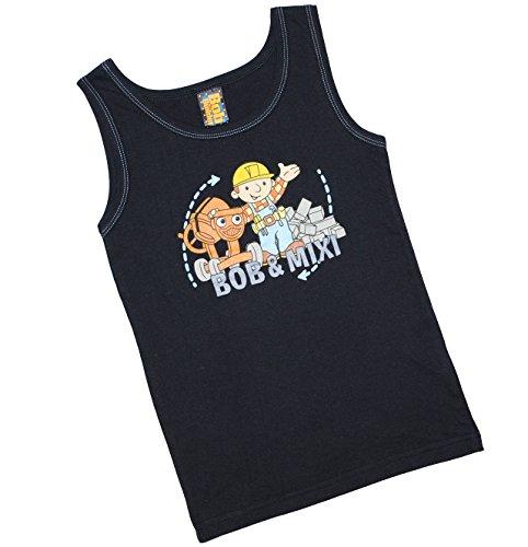 alles-meine.de GmbH Unterhemd Bob der Baumeister Größe 116 / 122 Mixi Kinder Unterwäsche Hemden