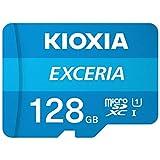 KIOXIA(キオクシア) 【国内正規品】microSDXCメモリカード 128GB Class10 UHS-IEXCERIA KMU-A128G